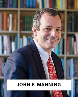 John F. Manning, Harvard Law School