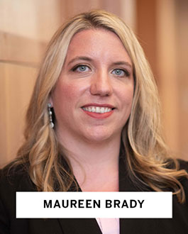 Maureen Brady, Harvard Law School