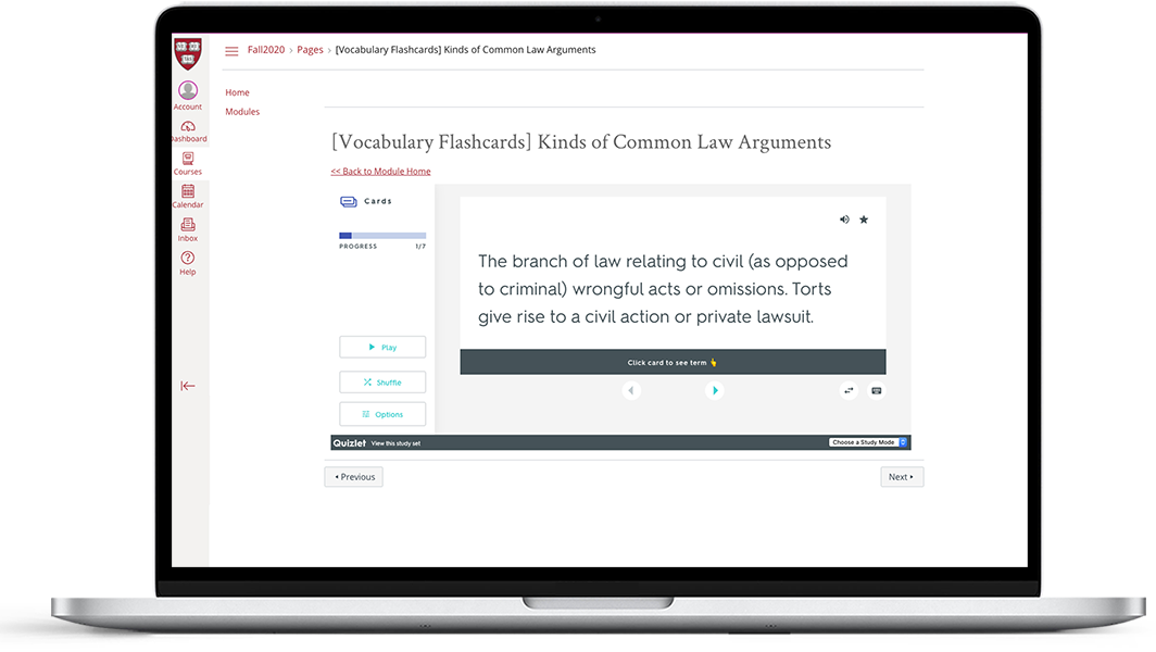 Learn kinds of common law arguments