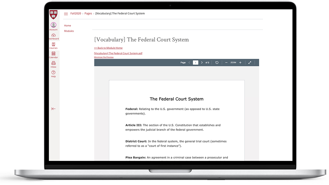 Introduction to the federal court system